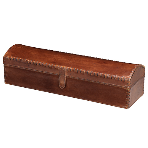 Chester Box In Tobacco Leather