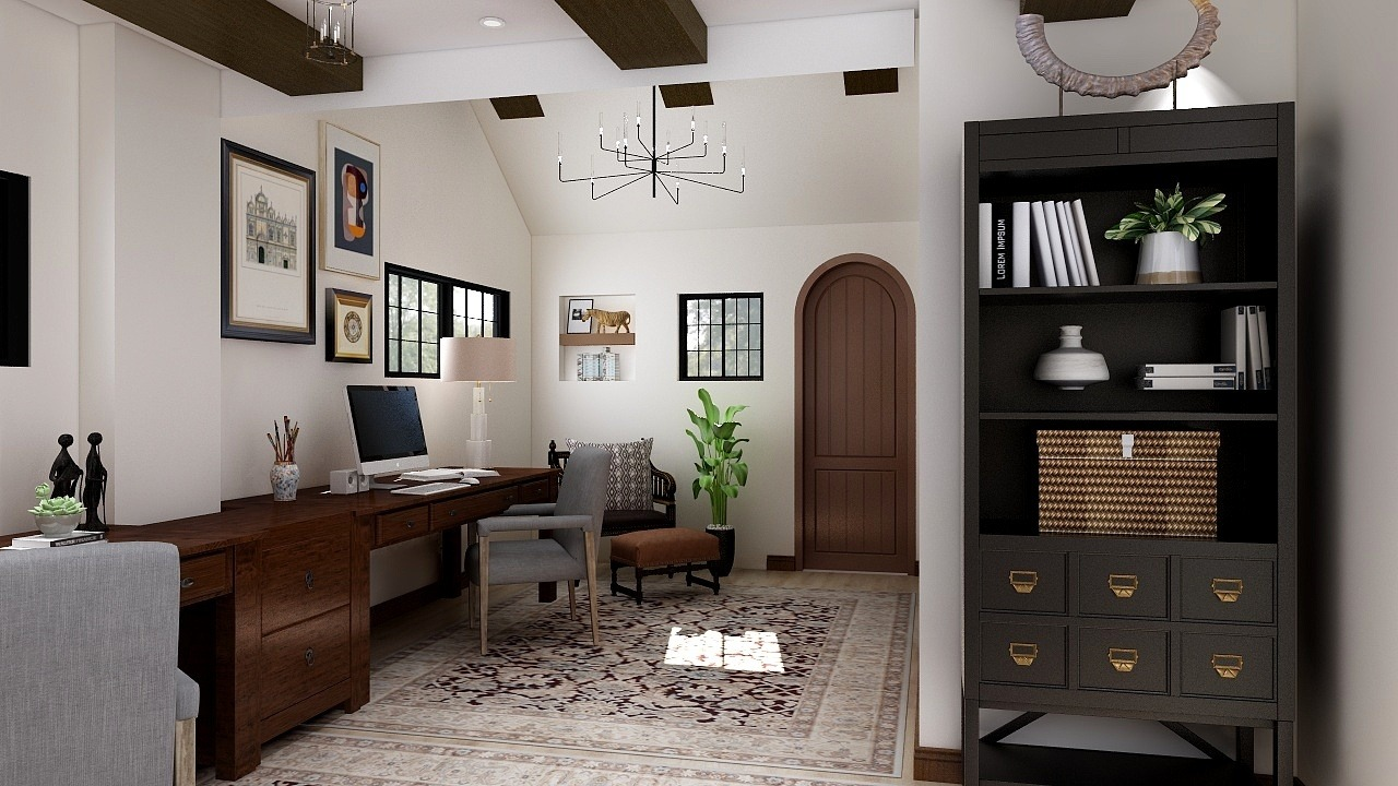 Home Office Designer Timeless Style