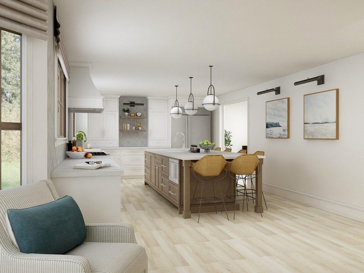 Light Filled Bold Kitchen Design