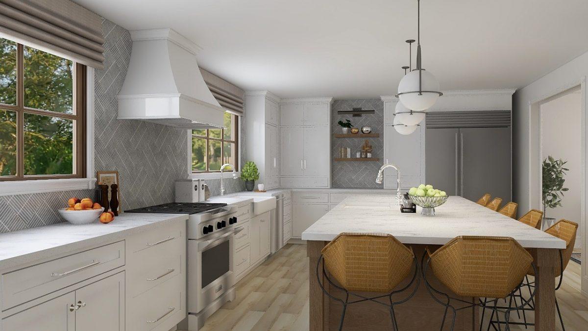 Unique White Kitchen Remodel Columbus Ohio
