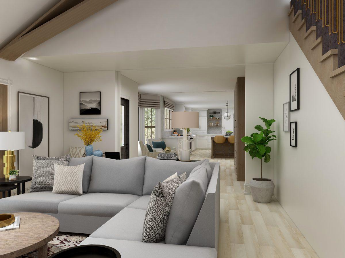 Antique and Modern Interior Designer Living Room
