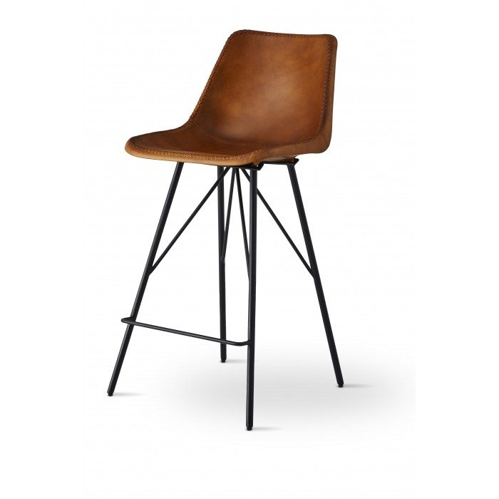 """Rodeo Bar Stool 26"""" - Light Brown Pack Of 2"""