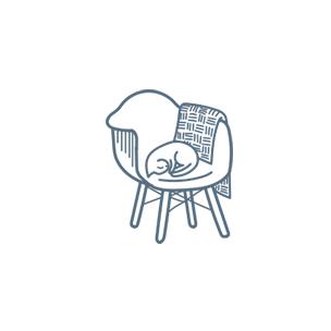 gray-chair-circle